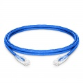 Cable de Red Ethernet LAN RJ45 UTP Cat6 1.8m 10/100/1000 Mbps hasta 10 Gbps PVC CM Azul