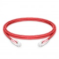 8ft(2.4m) Cat6 Ungeschirmtes (UTP) PVC CM Ethernet Patchkabel, Snagless, Rot