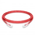 12ft (3.7m) Cat6 Snagless Unshielded (UTP) PVC CM Ethernet Network Patch Cable, Red