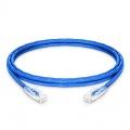 Cable de Red Ethernet LAN RJ45 UTP Cat 5e 1.5m 10/100/1000 Mbps PVC CM Azul