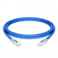 10ft (3m) Cat5e Snagless Unshielded (UTP) PVC CM Ethernet Patch Cable, Blue