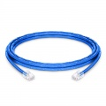 10ft (3m) Cat6 Non-booted Unshielded (UTP) PVC CM Ethernet Network Patch Cable, Blue