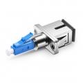 Hybrid Single Mode/Multimode Fiber Optic Adapter/Mating Sleeve, Female to Male