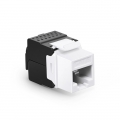 Cat6 RJ45 (8P8C) Unshielded Toolless Keystone Jack Module