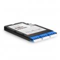 12 Fasern FHX TAP LWL-Kassette, OS2 Singlemode für 3x LC Quad, Splitverhältnis 50/50 (Live/Tap), 1/10/40/100 G