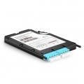 2x LC Quad, 8 Fibres OM4 Multimode FHX BIDI TAP Cassette, 50/50 Split Ratio (Live/Tap), 40G