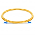 Customised Length LC UPC to LC UPC Simplex OS2 Single Mode LSZH 2.0mm Fibre Optic Patch Lead