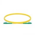 Customised Length LC-LC APC Simplex Single Mode Fibre Patch Lead 2.0mm PVC(OFNR)