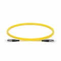 Customised Length FC-FC UPC Simplex Single Mode Fibre Patch Lead 2.0mm PVC(OFNR)