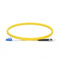 Customised Length LC-ST UPC Simplex Single Mode Fibre Patch Lead 2.0mm PVC(OFNR)