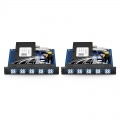 18 Channels 1270-1610nm Dual Fibre CWDM Mux Demux with Monitor Port, Plug-in Card Type for FMS 1800, LC/UPC