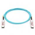 3m (10ft) 汎用互換 100G QSFP28アクティブオプティカルケーブル(AOC)