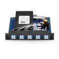 9 Channels 1290-1610nm Single Fibre CWDM Mux Demux Side B, Pluggable Module for FMT 1800, LC/UPC