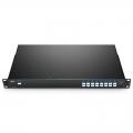16-Kanal-DWDM Mux Demux, 100GHz C45-C60, LC/UPC, Einzelfaser, Standort-B, 1HE Rackmontage