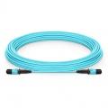 Customized 8/12 Fibers MPO-12 OM3 Multimode Trunk Cable