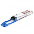 Módulo transceptor compatible con Fortinet FG-TRAN-QSFP+PLR, 4x10GBASE-LR QSFP+ 1310nm 10km DOM MTP/MPO SMF