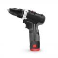 12V Lithium-ion 3/8'' Cordless Electric Screwdriver with 1500mAh Battery and Charger