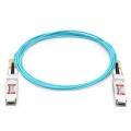 Cable óptico activo QSFP28 100G compatible con Mellanox MFA1A00-C030 30m (98ft)