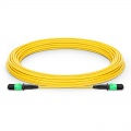 10m (33ft) MPO Female 12 Fibers Type A LSZH OS2 9/125 Single Mode Elite Trunk Cable, Yellow