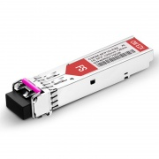 Alcatel-Lucent SFP-GIG-35CWD120 Compatible 1000BASE-CWDM SFP 1350nm 120km DOM LC SMF Transceiver Module