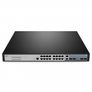 S3260-16T4FP Managed 16-Port Gigabit und 2 1Gb Combo PoE+ Switch mit 2 1Gb SFP Uplinks, 260W