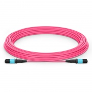 Customized 8/12 Fibers MPO-12 OM4 Multimode Trunk Cable