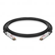 Cable Twinax 400G QSFP-DD 3m (10ft) de conexión directa de cobre pasivo - Compatible con Cisco QDD-400-CU3M