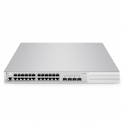 S3910-24TS, 24-Port Gigabit Ethernet L2+ Fully Managed Pro Switch, 24 x Gigabit RJ45, with 4 x 10Gb SFP+ Uplinks, Stackable Switch, Broadcom Chip