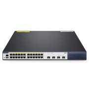 S3410-24TS-P, 24-Port Gigabit Ethernet Fully Managed Pro PoE+ Switch, 24 x PoE+ Ports @740W, with 2 x 10Gb SFP+ Uplinks and 2 x Combo SFP Ports, Broadcom Chip