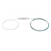 Optischer PLC Splitter 1x4, Ohne Steckverbinder, Singlemode, Bare Fasern 250μm, Stahlrohr