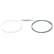 Optischer PLC Splitter 1x8, Ohne Steckverbinder, Singlemode, Bare Fasern 250μm, Stahlrohr
