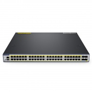 S3410-48TS-P, 48-Port Gigabit L2+ Ethernet Managed PoE+ Switch, 48 x PoE+ Ports @740W, with 2 x 10Gb SFP+ Uplinks and 2 x Combo SFP Ports, Broadcom Chip