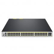 S5810-48TS-P 48ポート ギガビット イーサネット L3マネージドPoE+スイッチ(48xPoE+ポート @740W、4x10Gb SFP+アップリンク付き、Broadcomチップ)