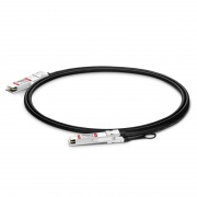 FS Совместимый с 2m (7ft) Mellanox MCP1650-V002 200G QSFP56 Пассивный Кабель DAC (Direct Attach Cable Twinax)