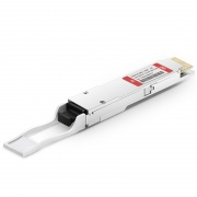 Módulo transceptor compatible con Juniper Networks QSFP-100GBASE-ZR4, 100GBASE-ZR4 QSFP28 1310nm 80km DOM LC SMF
