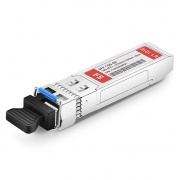 10GBASE-BX BiDi SFP+ 1270nm-TX/1330nm-RX 10km DOM Transceiver Module for FS Switches
