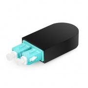 SC/UPC Duplex PVC OM4 50/125 Multimode Fiber Loopback Module