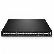 N5850-48S6Q, switch capa 3 de 48 puertos para centros de datos, 48 x  SFP+ 10Gb, con 6 x enlaces ascendentes QSFP+ 40Gb, software instalado, Chip Broadcom Trident II+