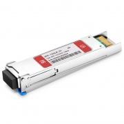 Juniper Networks XFP-10G-L-OC192-SR1 Compatible 10GBASE-LR/LW and OC-192/STM-64 SR-1 XFP 1310nm 10km DOM LC SMF Transceiver Module