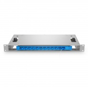 12 Fibers 1U 19'' Rack Mount Optical Distribution Frame (ODF), Unloaded