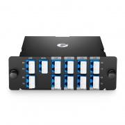 Mux Demux DWDM à 8 Canaux C29-C36, Double Fibre 100GHz  de Haute Densité, avec Port Moniteur et Port d'Expansion, FHD Module Plug-in, LC/UPC