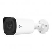 IPC204-2M-B, Caméra Réseau Balle HD Complet 2MP avec Micro Intégré, Vision Nocturne de 164 pouces, Résistant aux Intempéries IP67, Détection Intelligente du Comportement, Caméra IP PoE Extérieure/Intérieure avec Objectif Motorisé à Focale Variable de 2,8 à 12mm