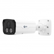 IPC501-5M-B, Caméra Réseau Balle Super HD 5MP, Vision Nocturne de 98 pouces, Résistant aux Intempéries IP67 et au Vandalisme IK10, Détection Intelligente du Comportement, Caméra IP PoE Extérieure/Intérieure avec Objectif Fixe de 4,0mm