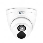 IPC301-8M-T, Caméra Réseau à Tourelle Ultra HD 8MP avec Micro Intégré, Vision Nocturne de 98 pouces, Résistant aux Intempéries IP67, Détection Intelligente du Comportement, Caméra IP PoE Extérieure/Intérieure avec Objectif Fixe de 4,0mm