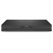 NVR202-16C, 16-Channel Network Video Recorder, Record 16CH 4K@30fps, Live View/Playback 2CH 4K@30fps, Supports up to 2x6TB Hard Drive (Not Included)