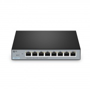 S2800S-8T, 8-Port Gigabit Ethernet L2+ Smart Managed Switch, 8 x Gigabit RJ45, Fanless