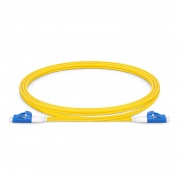 Customized OS2 Single Mode LC/SC Short Boot Fiber Optic Patch Cable