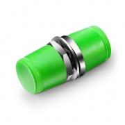 FC/APC to FC/APC Simplex Single Mode Metal Small D Fiber Optic Adapter/Coupler without Flange (10pcs/pack)