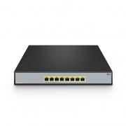 S1900-8TP 8ポート ギガビット イーサネット SOHOアンマネージドPoEスイッチ(8 x PoE+ポート @140W、金属、デスクトップ/ラックマウント)
