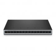 S1900-16T, 16-Port Gigabit Ethernet Unmanaged Switch, Metal, Fanless, Desktop/Wall-Mount